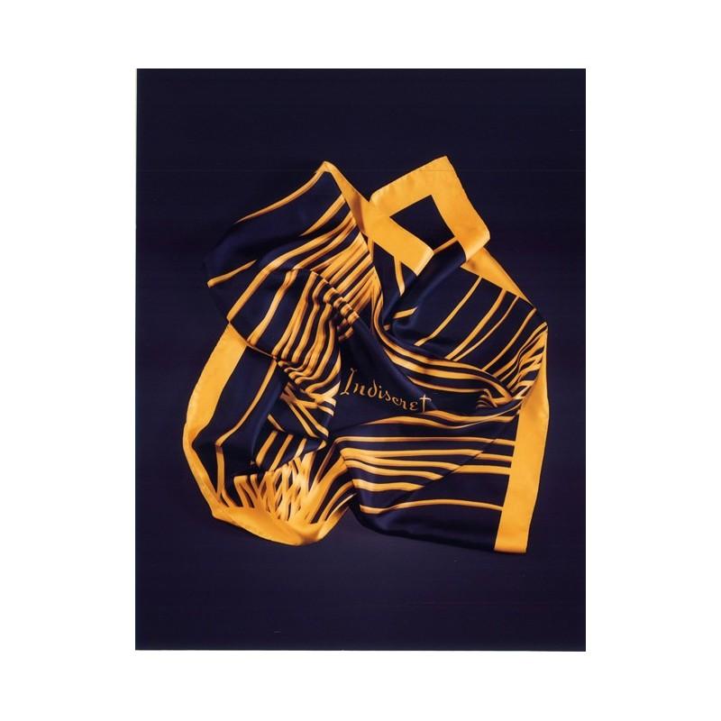 Lucien Lelong Signature Silk Scarf